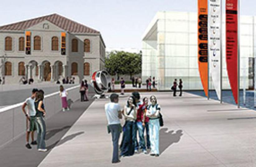 BeershebaProject-2-311 (photo credit: Planned science park in Beersheba.)