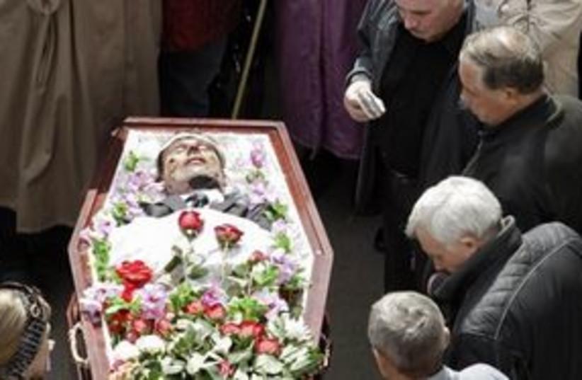 siberia miners funeral 311 (photo credit: AP)