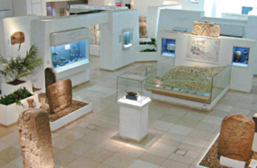 Bible Lands Museum Gallery 311 (photo credit: Haim Zach)