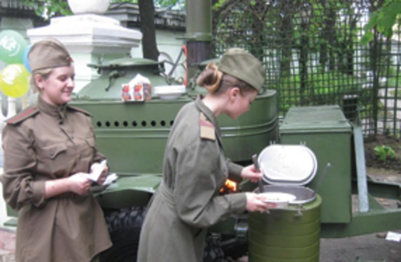 Nred army girls 311 (photo credit: NBen Hartman)
