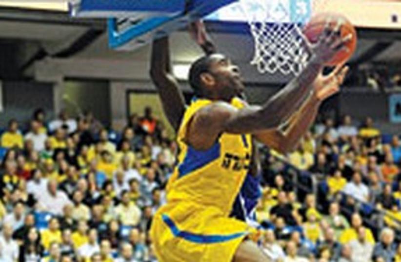 Maccabi Tel Aviv Alan Anderson 311 (photo credit: Asaf Kliger)