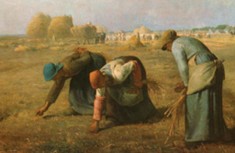 The Gleaners 311 (photo credit: Jean-Francois Millet)