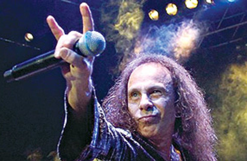 RonnieJamesDio311 (photo credit: Associated Press)