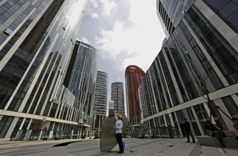 China real estate (photo credit: AP)