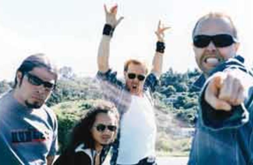 311 Metallica (photo credit: Courtesy)