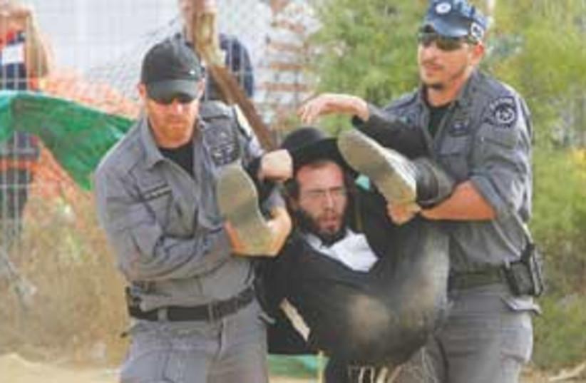 haredi police 311 (photo credit: Tsafrir Abayov)