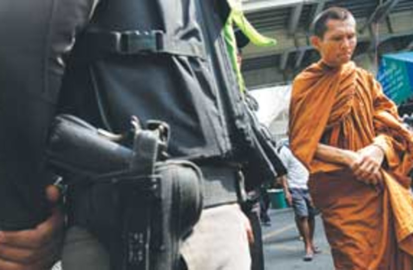 thailand monk 311 (photo credit: AP)