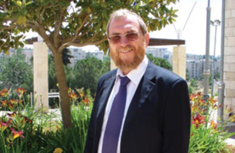 JTC President Prof. Noah Dana-Picard  311 (photo credit: JUDY SIEGEL-ITZKOVICH)
