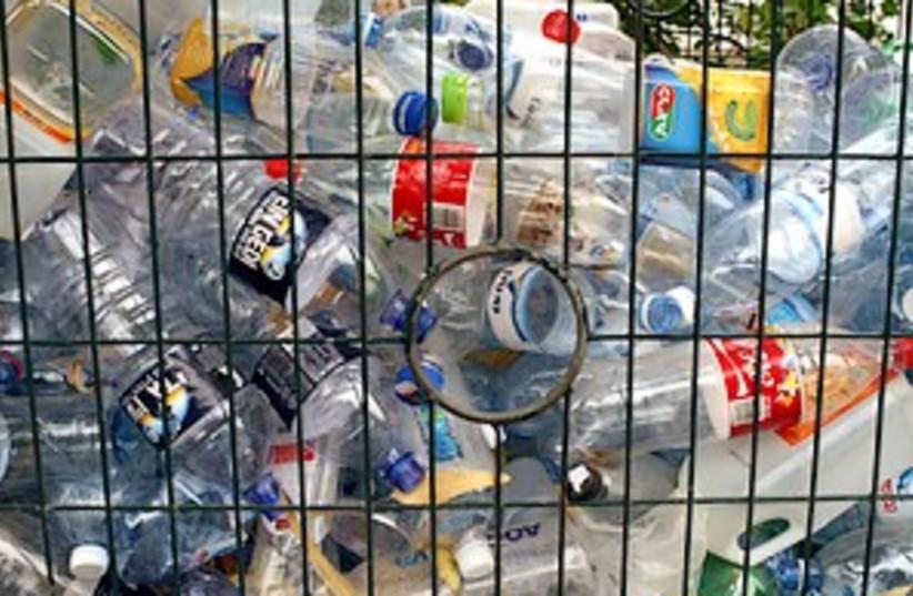 recycled bottles 298.88 (photo credit: Ariel Jerozolimski)