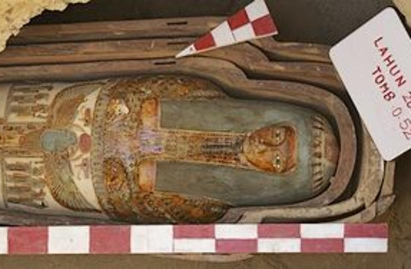 egypt mummy 311 (photo credit: AP)