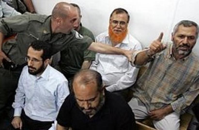 Palestinian prisoners court (photo credit: JPOST.COM STAFF)