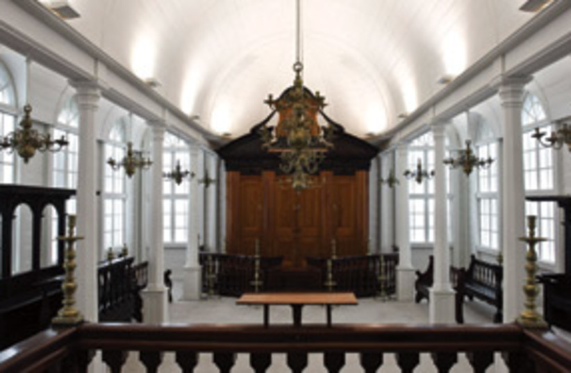 Synagogue from Suriname 311 (photo credit: Courtesy Israel Museum, Jerusalem)