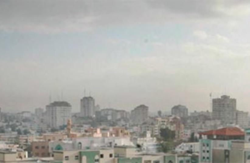 gaza strip view skyline 311 (photo credit: AP)