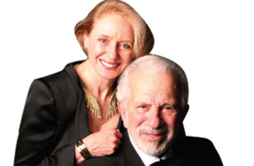 Dr. Leonard Polonsky and Dr. Georgette Bennett 311 (photo credit: Courtesy)