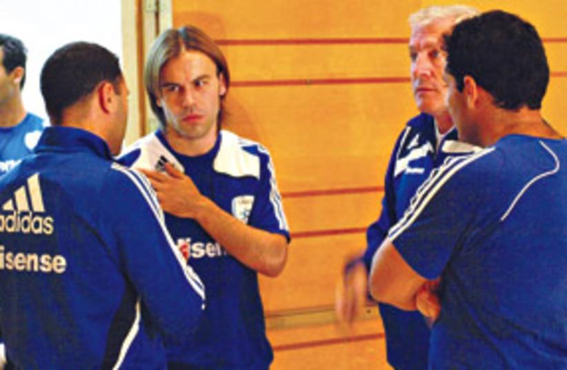 Bibras Natcho and Luis Fernandez 311 (photo credit: IFA Web Site)
