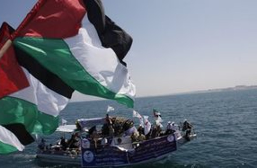 gaza prepares for flotilla 311 (photo credit: AP)