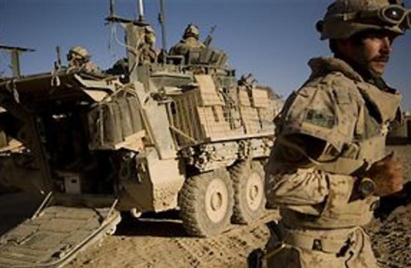 canadian troop afghanistan 311 (photo credit: AP)