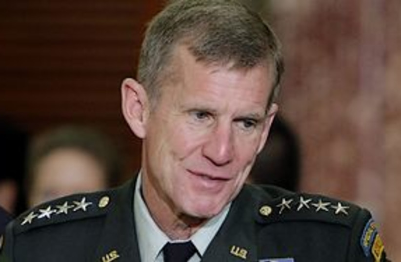 stanley mcchrystal 311 (photo credit: AP)