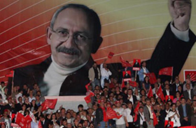 Kemal Kilicdaroglu 311 (photo credit: AP)
