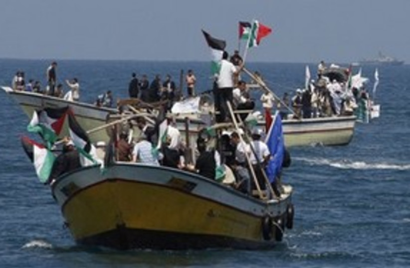 Gaza Boat 311 (photo credit: ASSOCIATED PRESS)