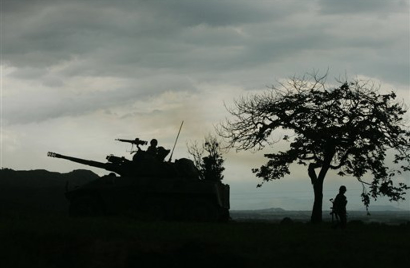 Colombian soldiers (photo credit: AP)