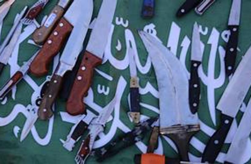 marmara knives 311 (photo credit: IDF Spokesperson)