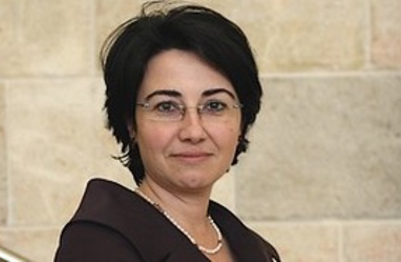 Balad MK haneen zuabi 311 (photo credit: Ariel Jerzolomiski [file])