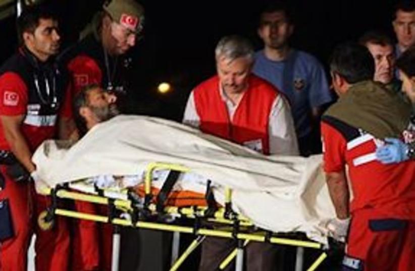 wounded activist ankara 311 (photo credit: AP)
