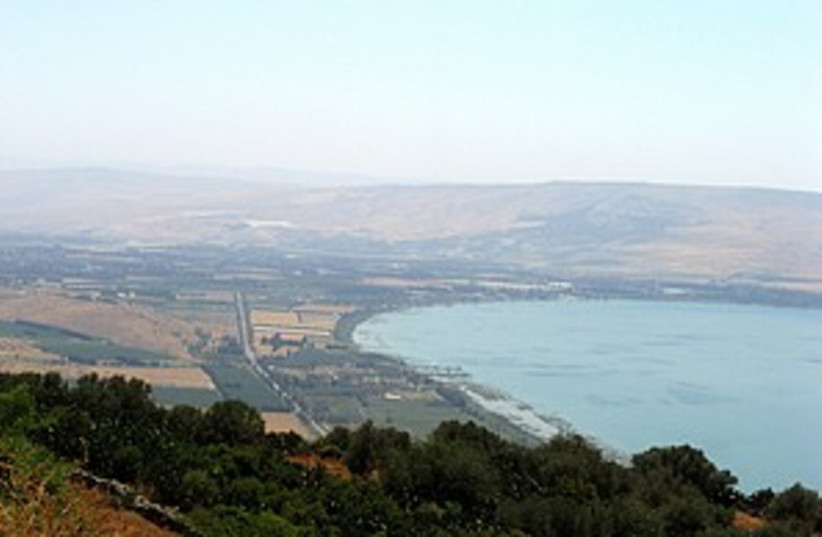 Kinneret 298.88 (photo credit: Jonathan Beck)