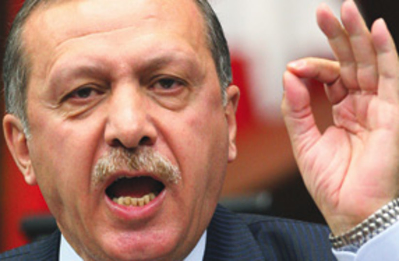Erdogan311 (photo credit: Associated Press)