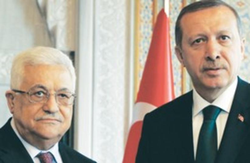 Abbas-Erdogan 311 (photo credit: Associated Press)
