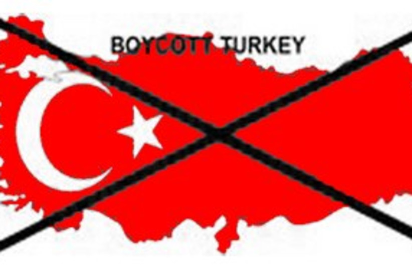 Boycott Turkey campaign 311 (photo credit: Courtesy)