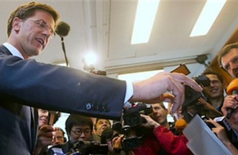 Mark Rutte 311 (photo credit: Associated Press)