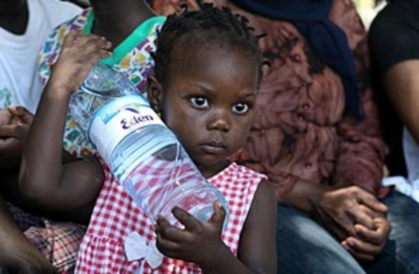 cute sudanese baby 298.  (photo credit: Ariel Jerozolimski)