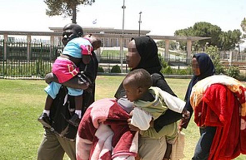 sudanese jlem 298.88 (photo credit: Ariel Jerozolimski [file])