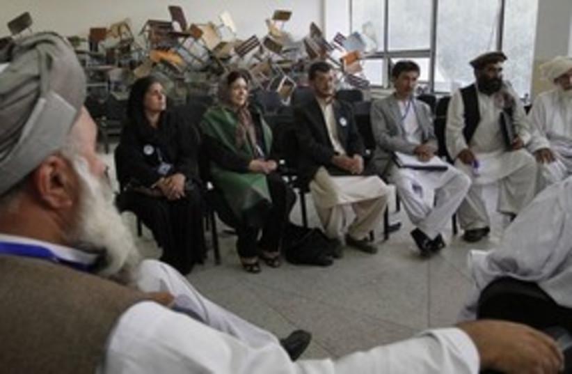 311_peace jirga (photo credit: Associated Press)