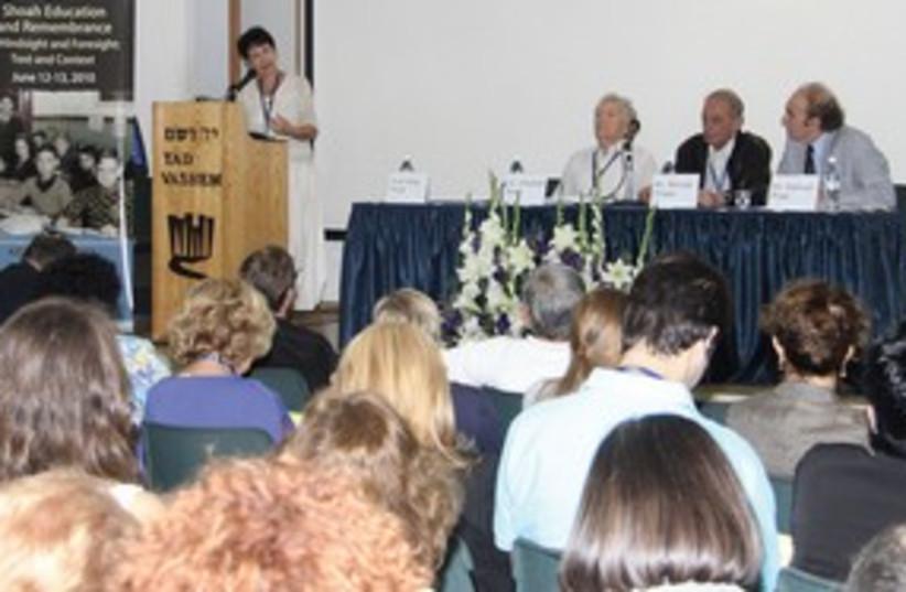 Holocaust conference 311 (photo credit: Isaac Harari)