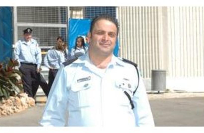 Murdered policeman 'Shuki' Sofer 311 (photo credit: Israel Police)