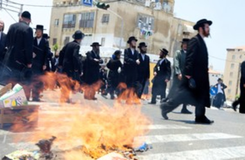 Jaffa Protest 311 (photo credit: Dan Morgan)