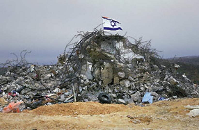 abandoned settlement 311 (photo credit: Gaston Zvi Ickowicz)
