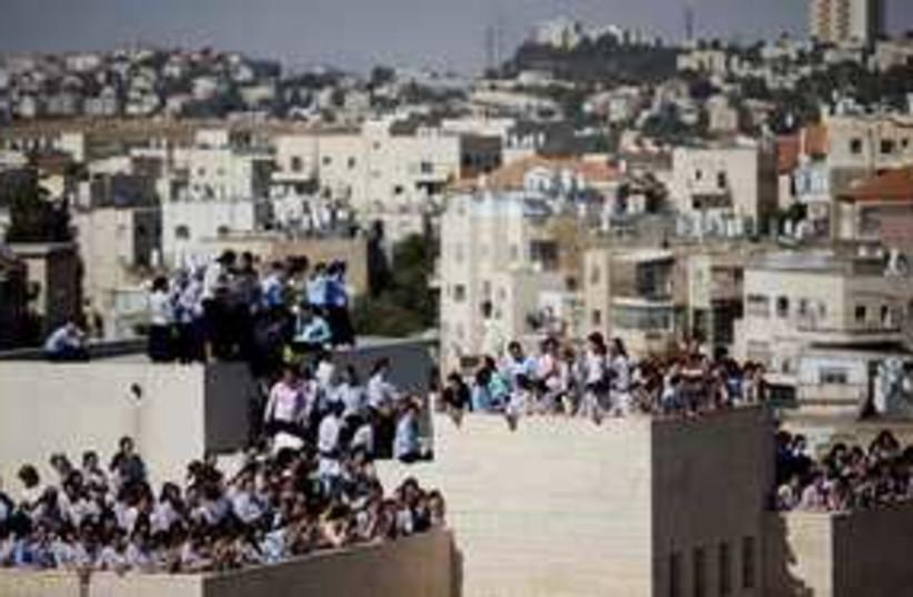 haredi riots jerusalem 311 (photo credit: Associated Press)