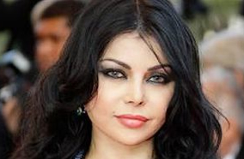 haifa wehbe 311 (photo credit: AP)