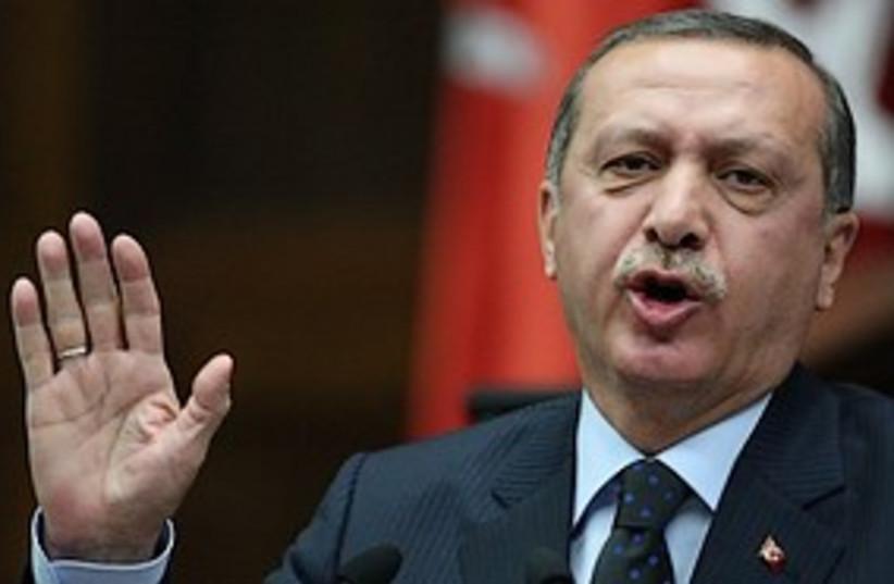 Recep Tayyip Erdogan 311 (photo credit: ASSOCIATED PRESS)