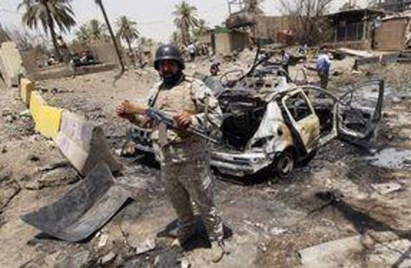 Iraq car bomb 311 (photo credit: Associated Press)