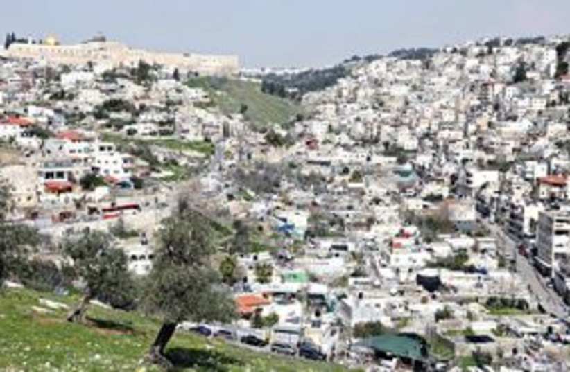 311_Silwan (photo credit: Ariel Jerozolimski/The Jerusalem Post))
