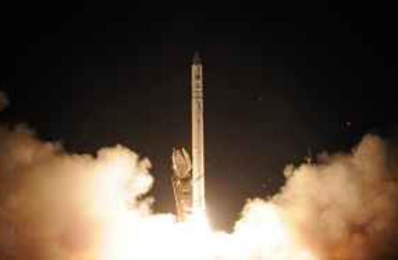 ofek 9 launching 311 (photo credit: Israel Aerospace Industries (IAI))