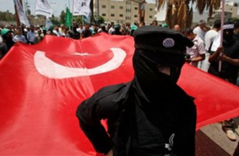 Turkey Flag 311 (photo credit: Associated Press)