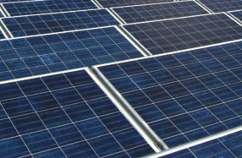 solar panels 311 (photo credit: Courtesy)