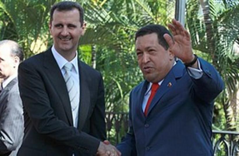 Assad chavez 311 AP (photo credit: ASSOCIATED PRESS)