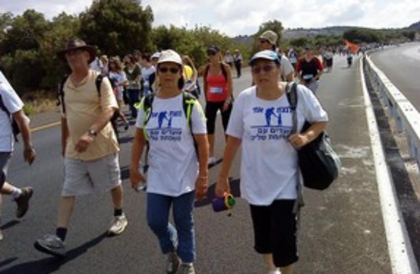 311_ schalit march good (photo credit: Ben Spier)